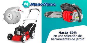 ManoMano promoción herramientas de jardinería