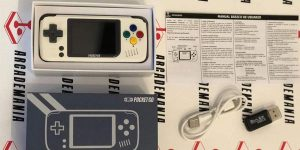 Mini consola retro Bittboy Pocketgo Classic Edición Super nintendo rebajada en Amazon
