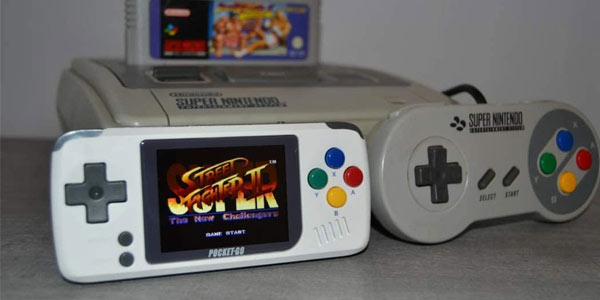 Mini consola retro Bittboy Pocketgo Classic Edición Super nintendo en oferta en Amazon