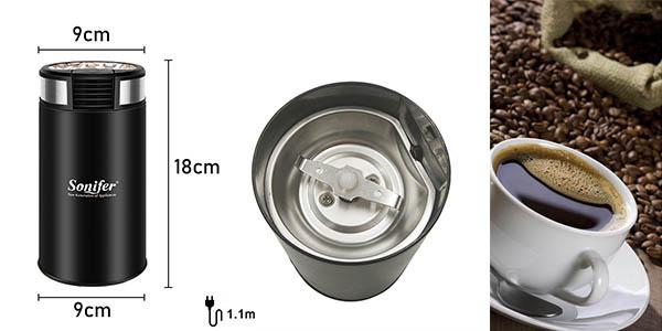 Mini molinillo eléctrico de café Sonifer barato