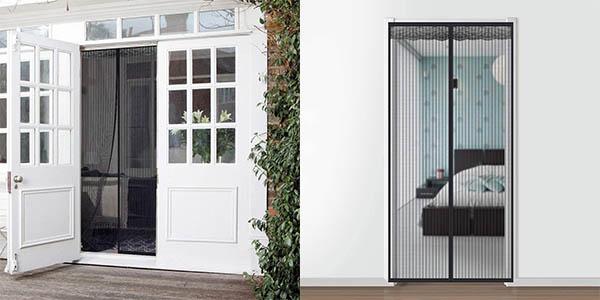 Mosquitera magnética Faburo para puerta de 210 x 90 cm