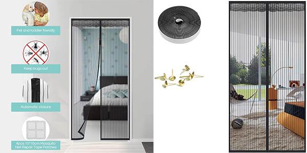 Mosquitera magnética Faburo para puerta de 210 x 90 cm barata