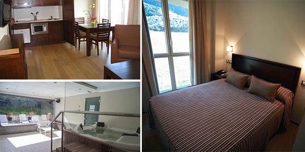 Obaga Blanca Hotel con spa en Andorra chollo