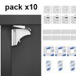 Pack x10 Cerraduras Magnéticas de Seguridad Dokon para Niños + 2 llaves barato en Amazon