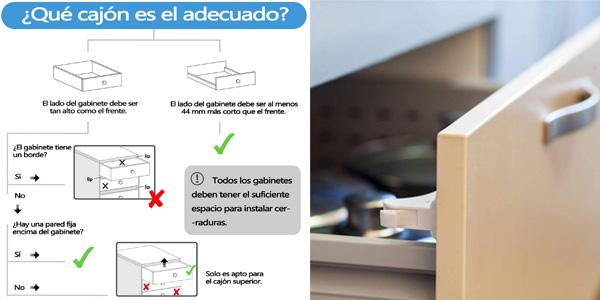 Pack x10 Cerraduras Magnéticas de Seguridad Dokon para Niños + 2 llaves chollo en Amazon