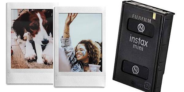 Pack 20 hojas Fujifilm Instax Mini Brillo chollo en Amazon