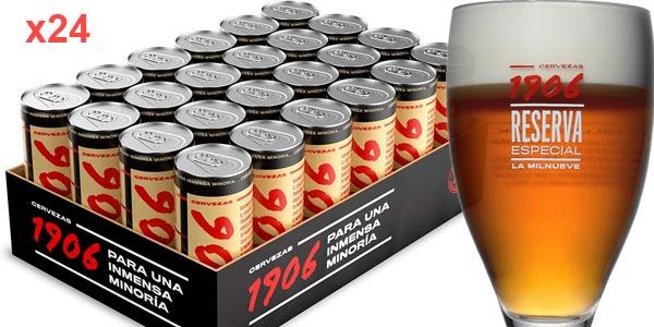 Pack x24 Cervezas 1906 Reserva Especial de 33 cl/ud barato en Amazon