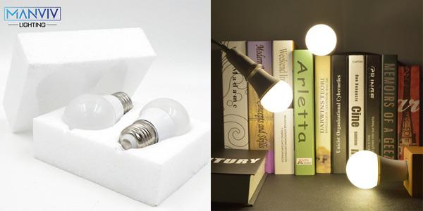 Pack x6 bombillas LED E27 chollazo en AliExpress