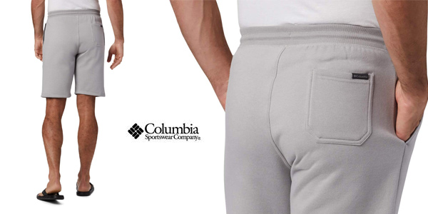 Pantalones cortos de chándal Columbia Model para hombre chollo en Amazon