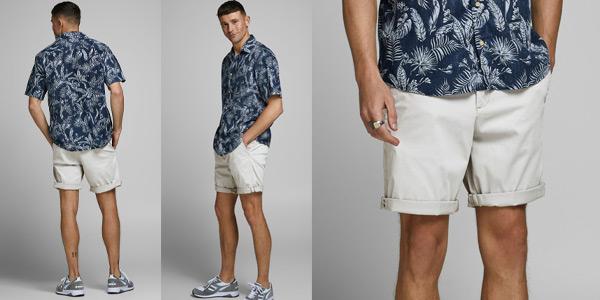 Pantalones cortos Jack & Jones Jjibowie Jjshorts para hombre baratos en Amazon