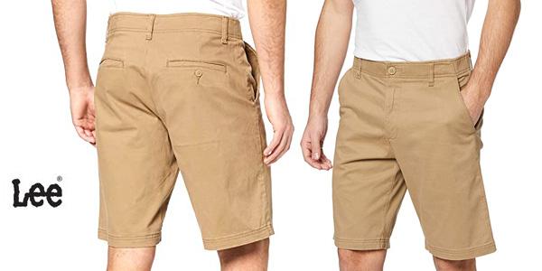 Lee Short Pantalones Cortos para Hombre