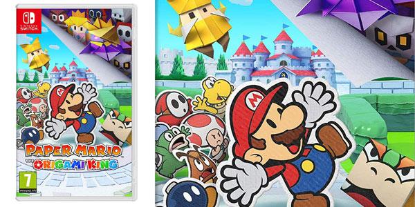 Paper Mario: The Origami King para Switch barato en Amazon