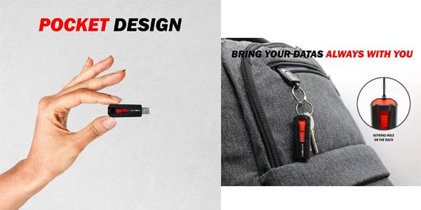 Pendrive USB 3.1 Magix Stealth Super Speed en oferta en Amazon