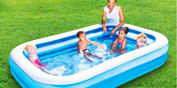Piscina hichable Bestway Family Pool barata en AliExpress Plaza