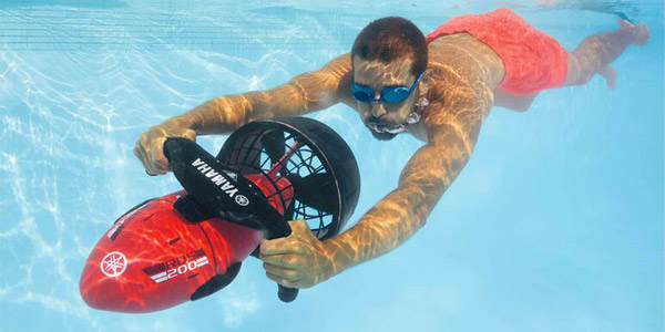 Propulsor acuático Yamaha Seascooter RDS200 chollazo en Lidl