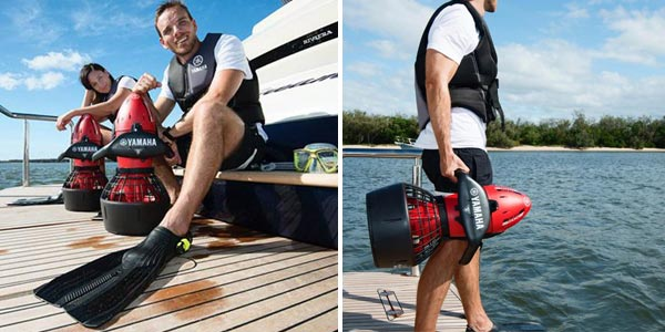 Propulsor acuático Yamaha Seascooter RDS200 chollo en Lidl