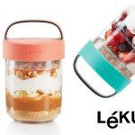 Recipiente hermético Lekue Jar To Go de 400 ml barato en Amazon