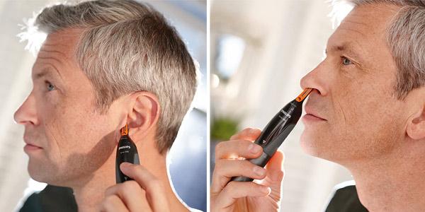 Recortador de vello Philips NT3160/10 para nariz y orejas chollazo en Amazon