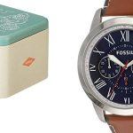 Reloj cronógrafo Fossil FS5210 para hombre con correa en piel barato en Amazon