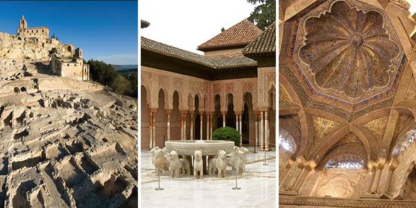 Ruta del Califato por Andalucía con alojamientos baratos