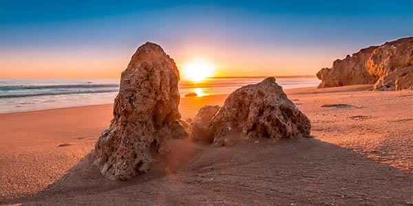 ruta por pueblos y playas del Algarve recorrido con alojamientos baratos