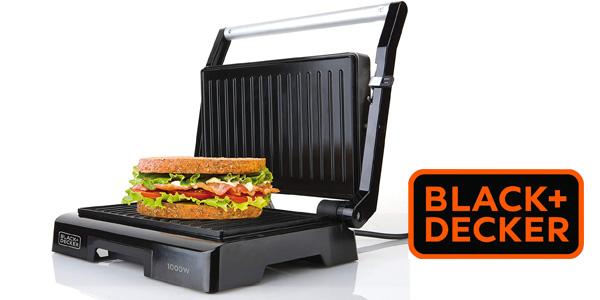 Sandwichera Black+Decker BXGR1000E barata en Amazon