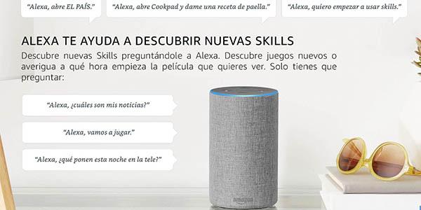 Skills de Alexa aplicaciones para personalizar órdenes a tus dispositivos Amazon Echo