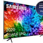 "Smart TV Samsung 50TU7105 UHD 4K HDR de 50"" barata en Amazon"