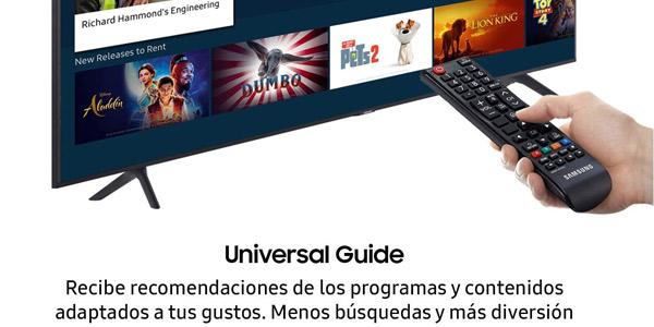 "Smart TV Samsung 50TU7105 UHD 4K HDR de 50"" chollo en Amazon"