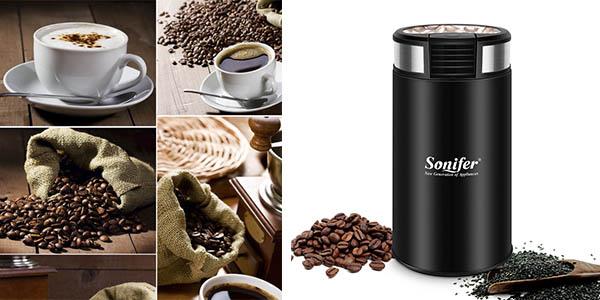 Sonifer molinillo eléctrico mini para café chollo