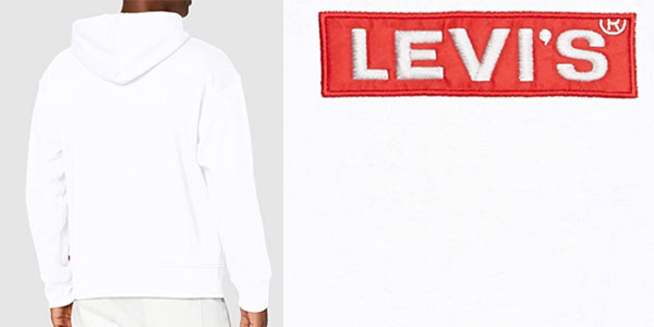 Sudadera Levi's Relaxed Graphic Hoodie en oferta en Amazon