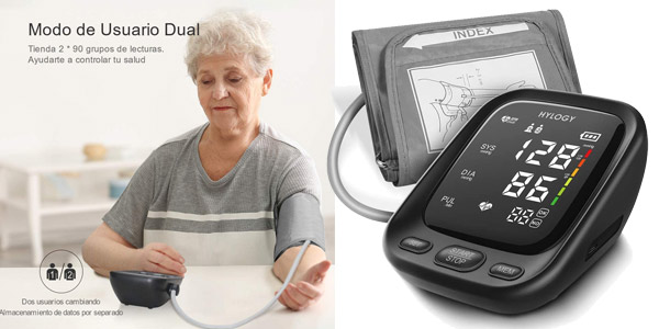 Tensiómetro digital de brazo Hylogy barato en Amazon