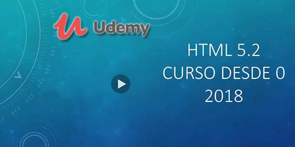 Udemy curso html desde cero gratis