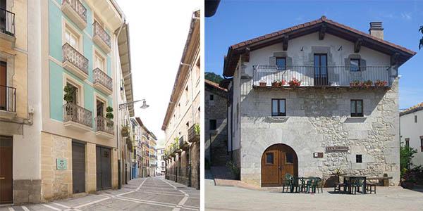 vacaciones familiares en Pamplona en casa rural o apartamento barato
