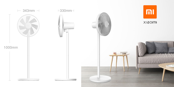 Ventilador inteligente Xiaomi Mi Smart Standing Fan 1C chollo en Amazon