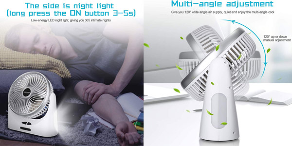 Mini Ventilador Portátil NASUM chollazo en Amazon