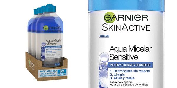 Agua Micelar Garnier Skin Active barata en Amazon