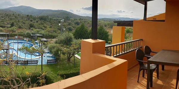 apartamento en Peñíscola con piscina y terraza de relación calidad-precio alta