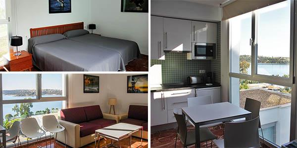 apartamentos turísticos en el Embalse de Orellana de relación calidad-precio alta