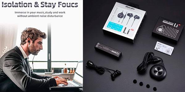 Auriculares Bluedio Li-Pro USB de 7.1 canales baratos