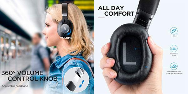 Auriculares Bomaker Dolphin Bluetooth 5.0 con cancelación de ruido y micro en oferta