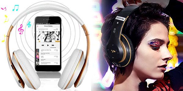 Auriculares cerrados inalámbricos 6S con Bluetooth 5.0 en oferta