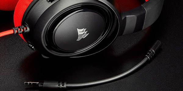 Auriculares gaming Corsair HS35 con micrófono extraíble en Amazon