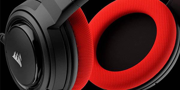 Auriculares gaming Corsair HS35 con micrófono extraíble baratos
