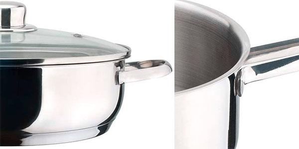 Batería de cocina Magefesa Dux de 12 piezas de acero barata