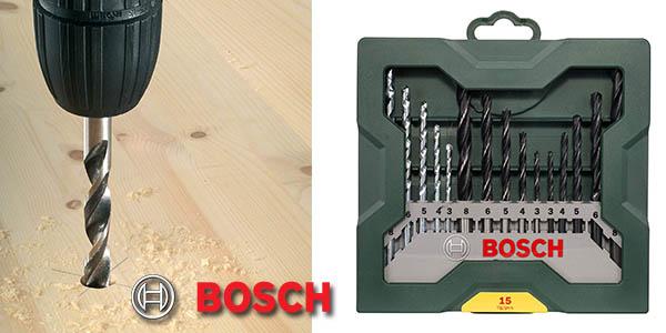 Bosch Mini X Line Set 15 brochas mixto chollo