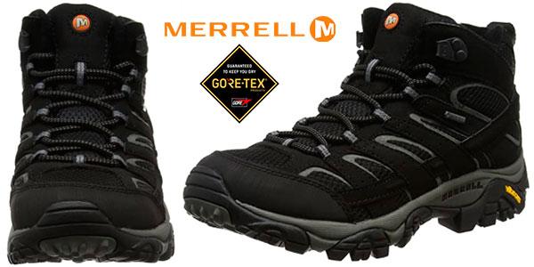 Chollo Botas de senderismo Merrell Moab 2 Mid GORE-TEX para hombre