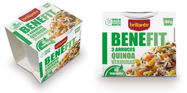 Pack Brillante Benefit Arroces Quinoa Verduras barato en Amazon