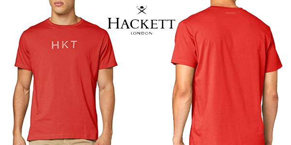 Camiseta de manga corta HKT by Hackett para hombre barata en Amazon