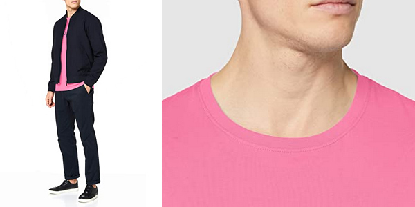 Camiseta de manga corta Esprit 129EE2K010 para hombre chollo en Amazon
